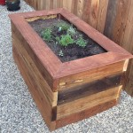 Free Wood Planter Box Plans