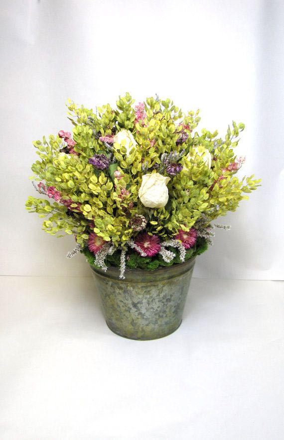 French Country Dried Flower Arrangements