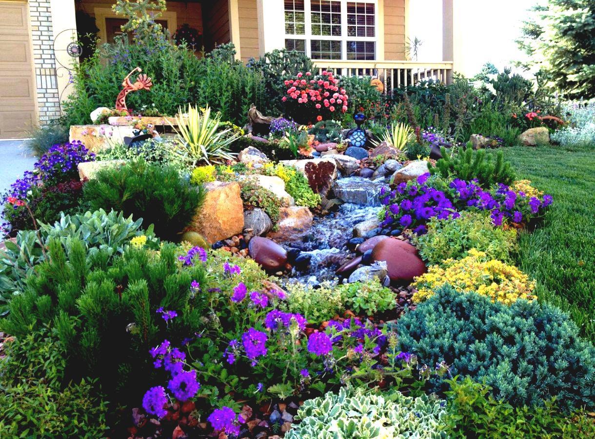 Full Sun Perennial Garden Plans Garden Design Ideas