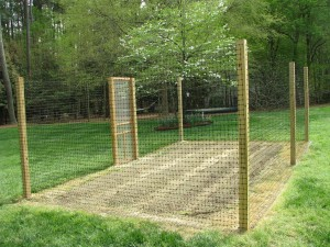 Garden Deer Fence Kit