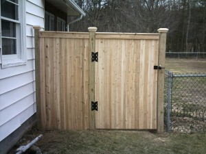 Garden Fence Gate Kit