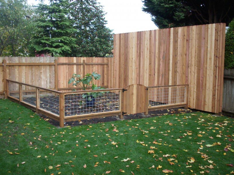 Garden Fence Kits with Gate