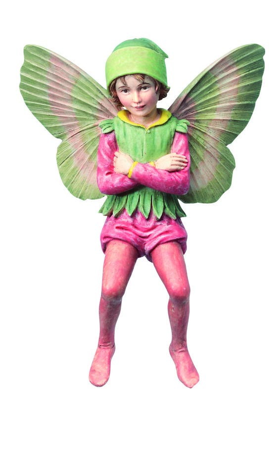 Garden Flower Fairies Ornaments