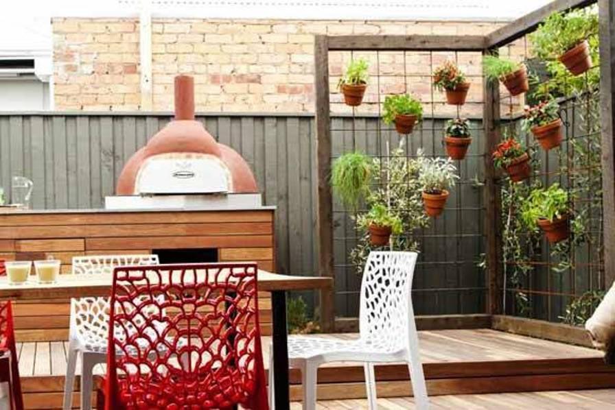 Herb Garden Hanging Planters