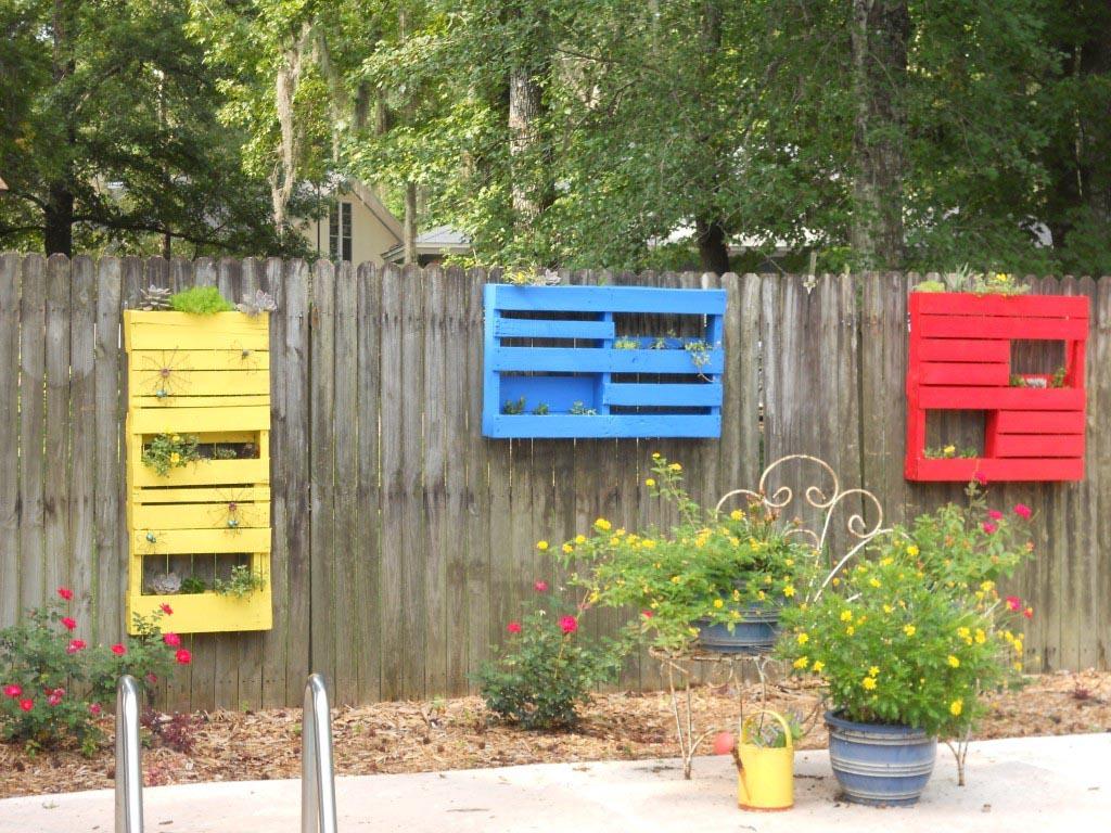 Herb Garden in Planter Boxes