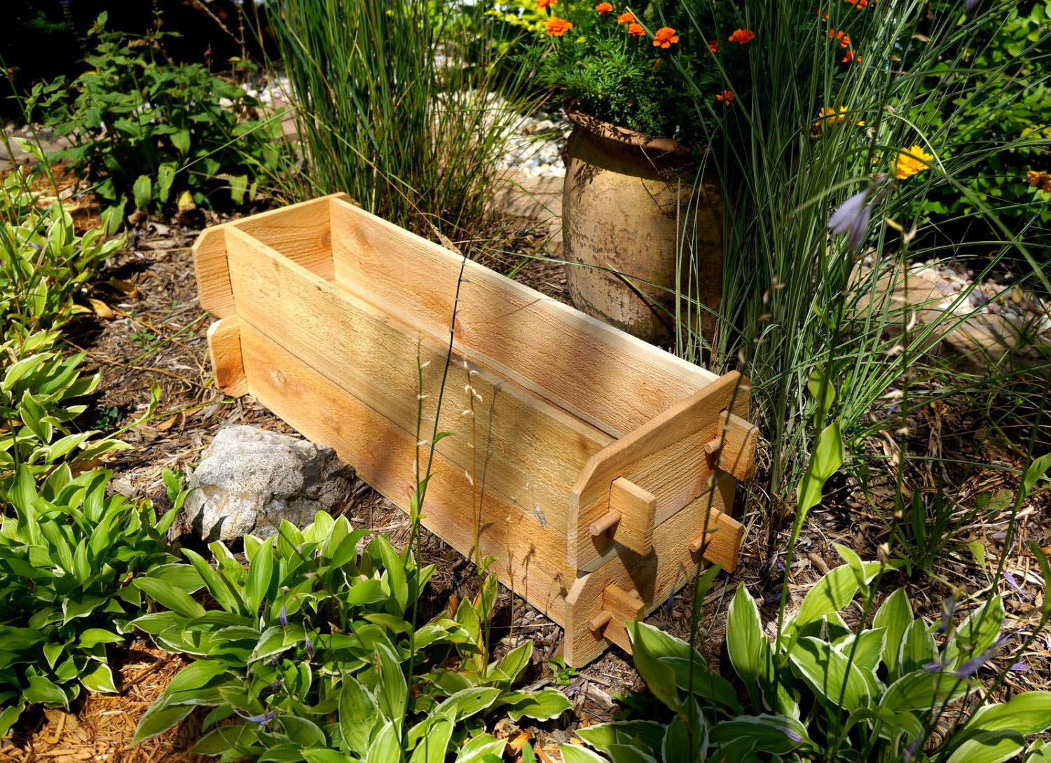 Outdoor Herb Garden Kit In Stock Now Greenfingerscom Elegant