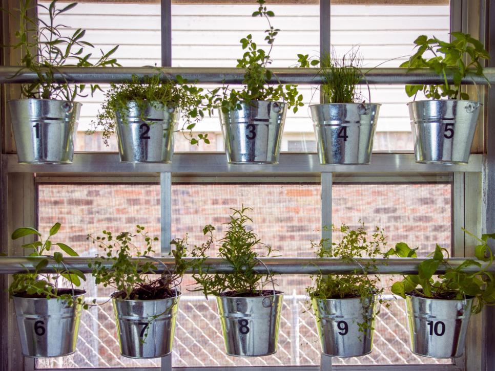 Herb Garden Kitchen Window