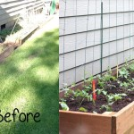 Herb Garden Made with Pallets