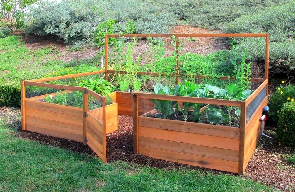Herb Garden Planter Box Plans