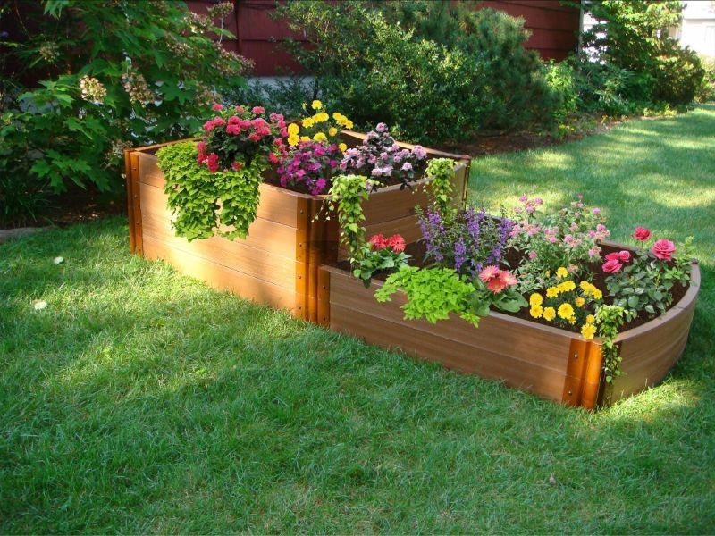 Herb Garden Raised Bed Design