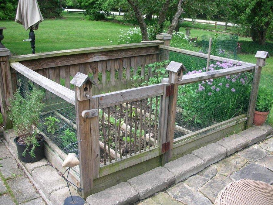 Herb Garden Raised Bed