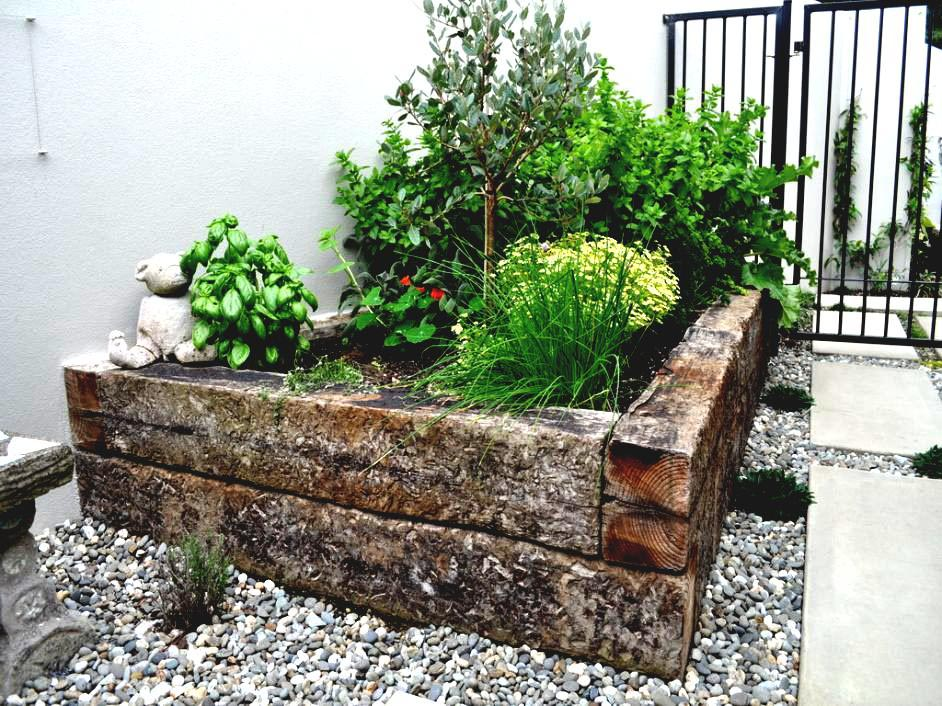Herb Garden Raised Planter
