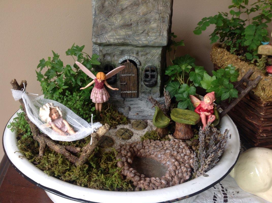 Indoor fairy garden supplies garden design ideas for Indoor gardening accessories