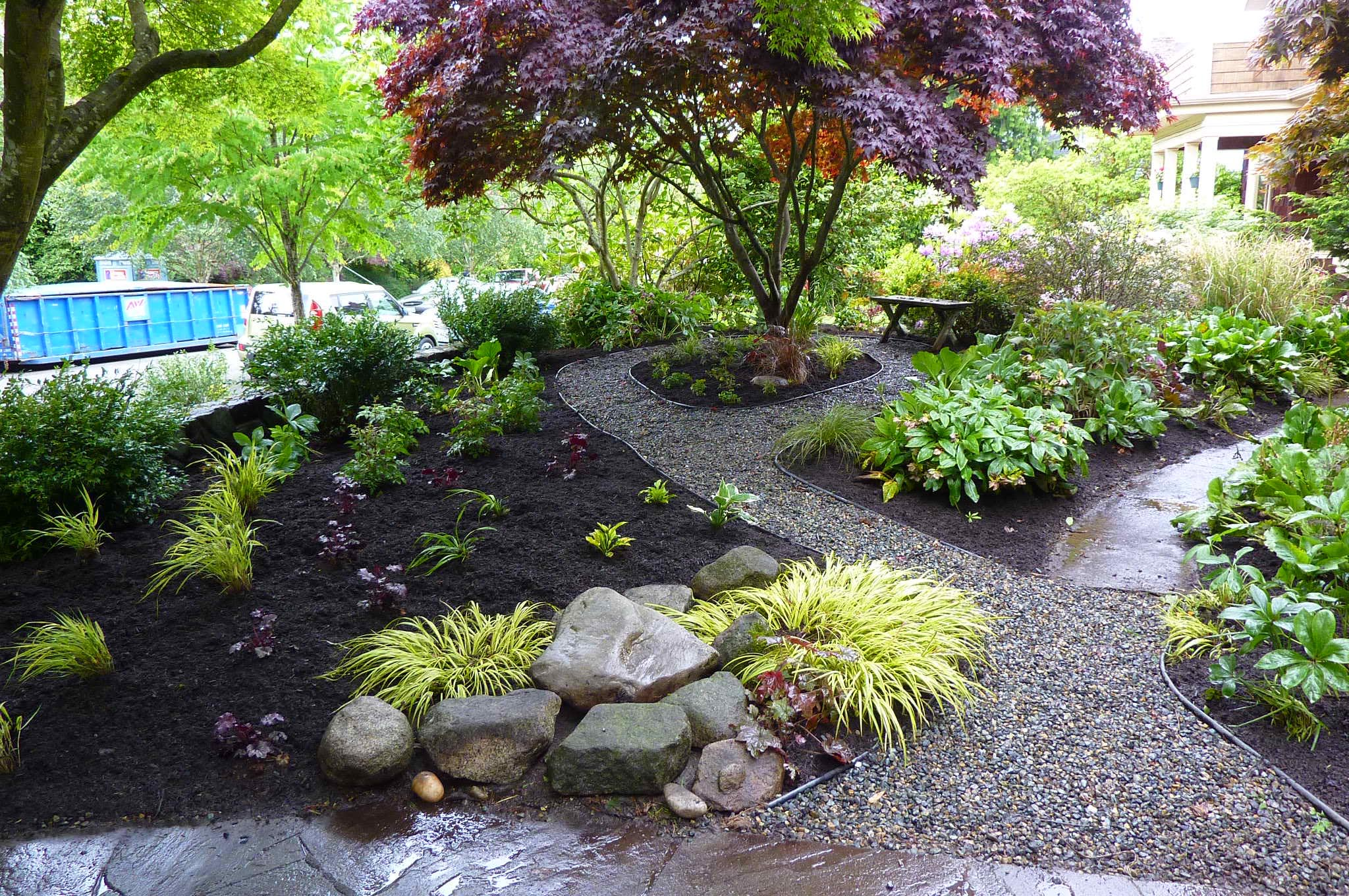 Japanese shade garden plants garden design ideas for Japanese garden bushes