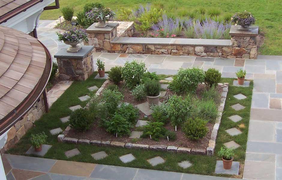 Kitchen Herb Garden Design