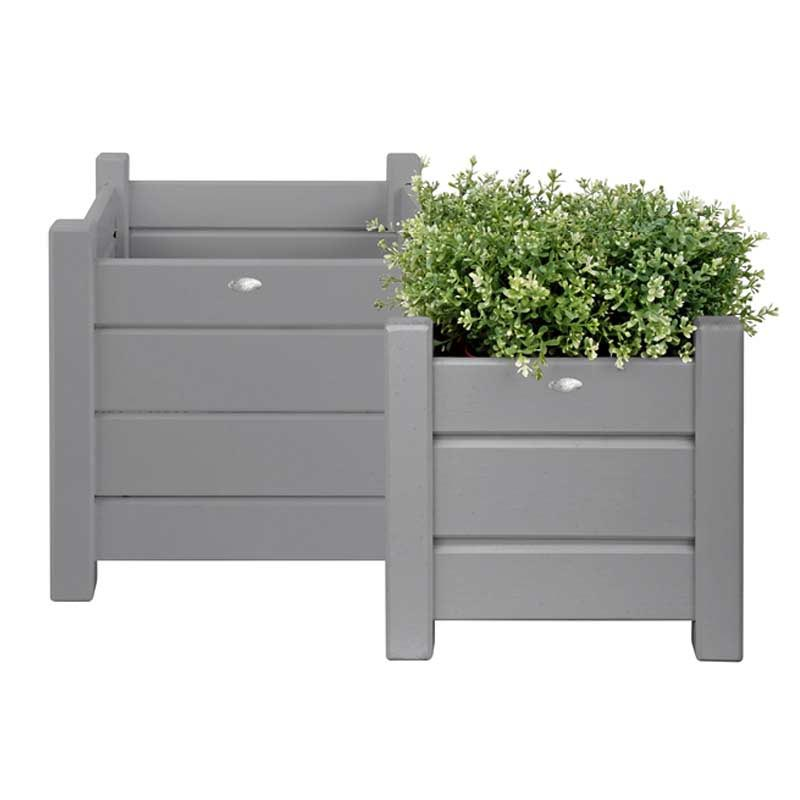 Large Square Wooden Planters