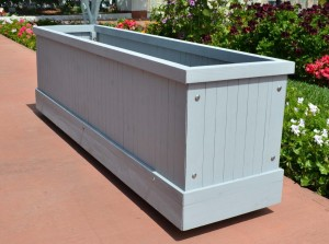 Large Wooden Box Planters