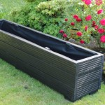 Large Wooden Planters for Trees