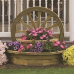Large Wooden Planters Homebase