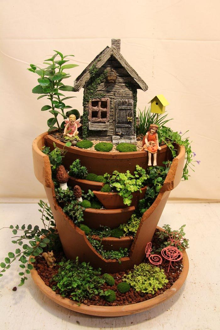 Make Fairy Garden Indoors