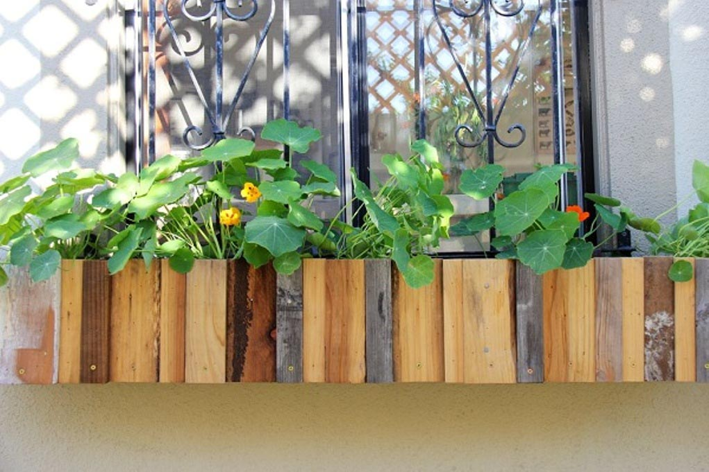 Make Wooden Planter Boxes