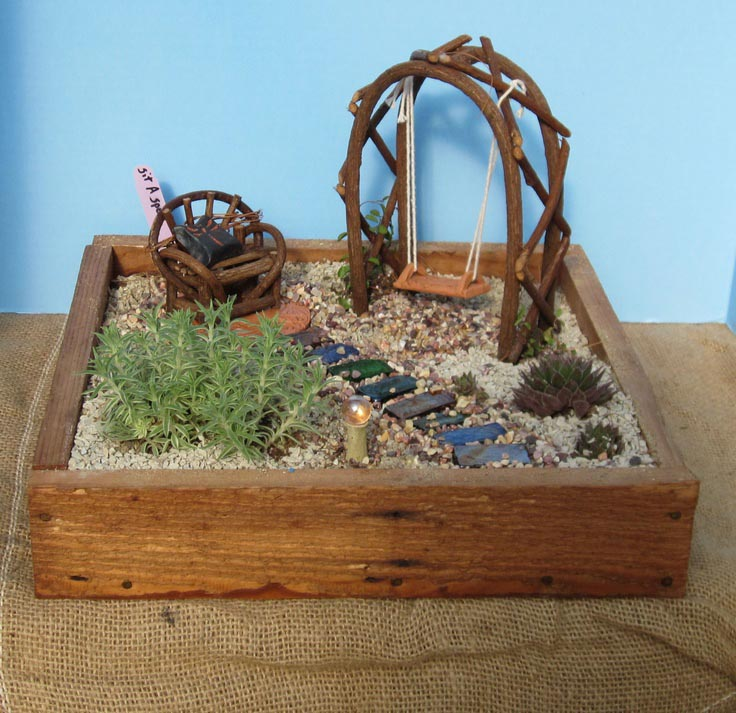 make your own fairy garden furniture garden design ideas