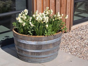 Making a Wooden Barrel Planter