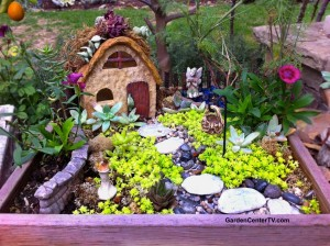 Mini Fairies for Gardens