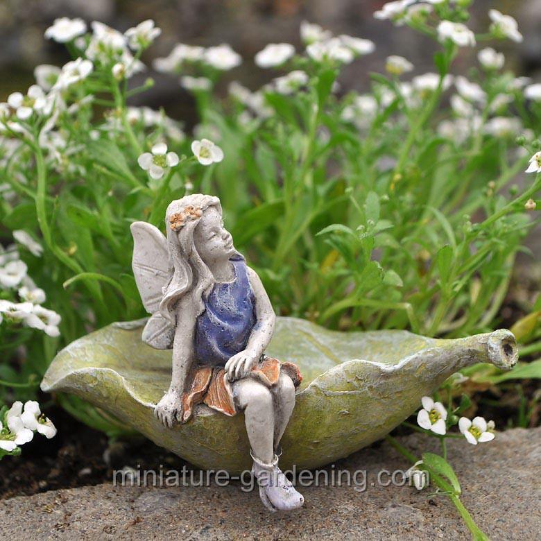 Miniature Fairy Figurines for Garden
