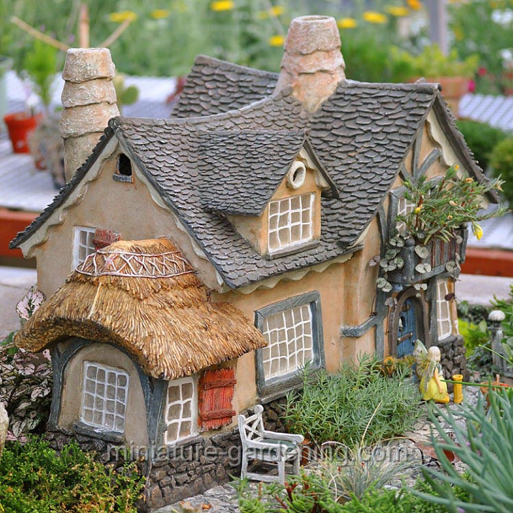Miniature Fairy Garden Cottages