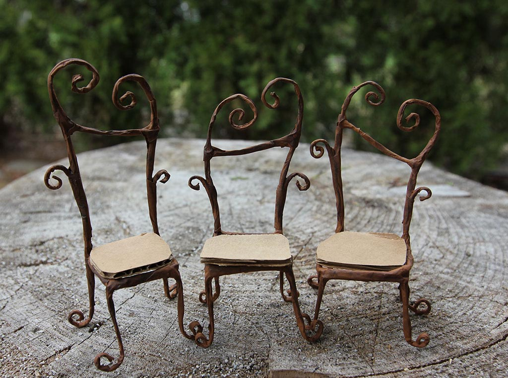 Miniature Fairy Garden Furniture
