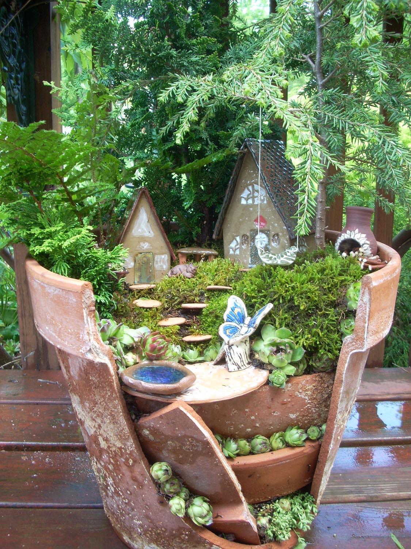 Miniature Fairy Garden Terrarium
