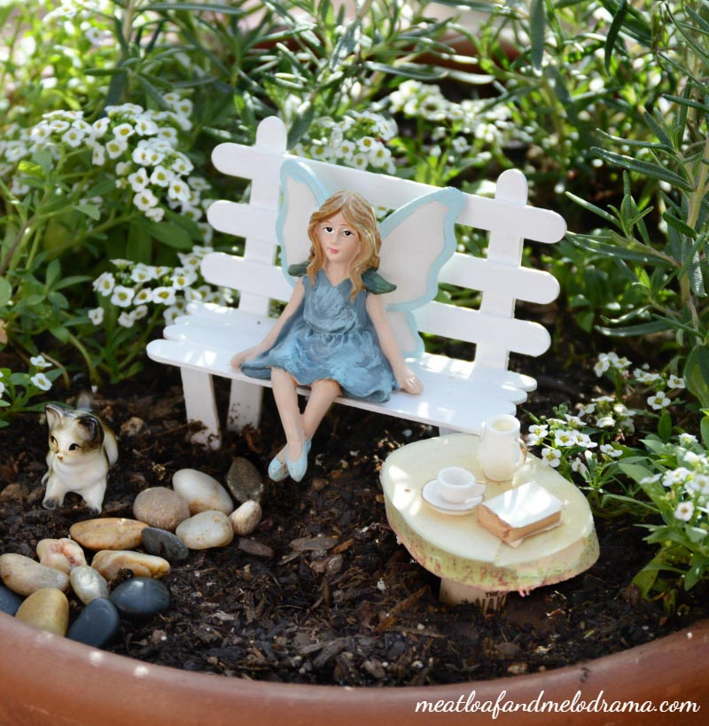 Miniature Furniture Fairy Garden