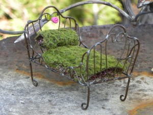 Miniature Furniture for Fairy Gardens