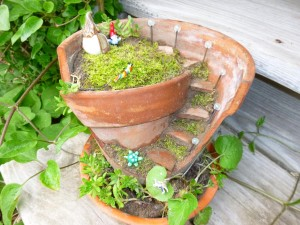 Miniature Solar Lights for Fairy Garden