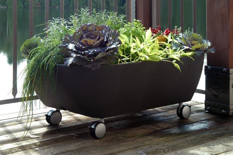 Modern Herb Garden Planter