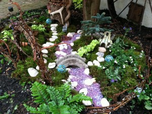 Outdoor Fairy Garden Cottage