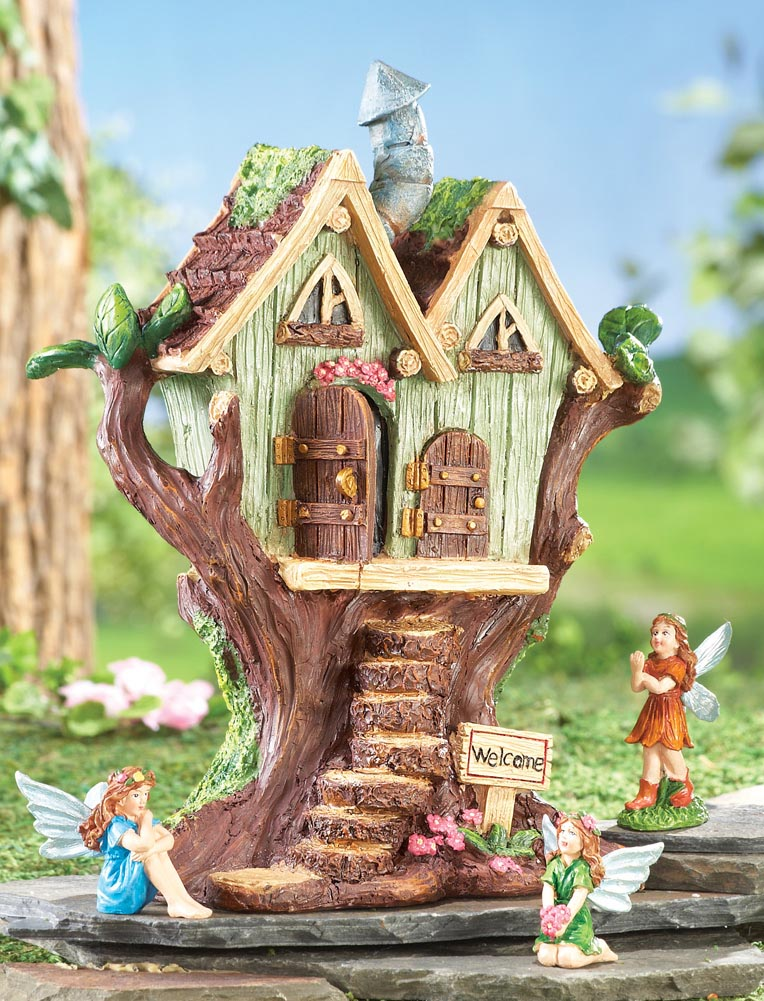 Outdoor Fairy Garden Figurines