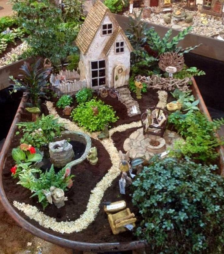 Outdoor Fairy Garden Ideas