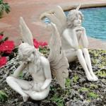 Outdoor Garden Fairies Statues