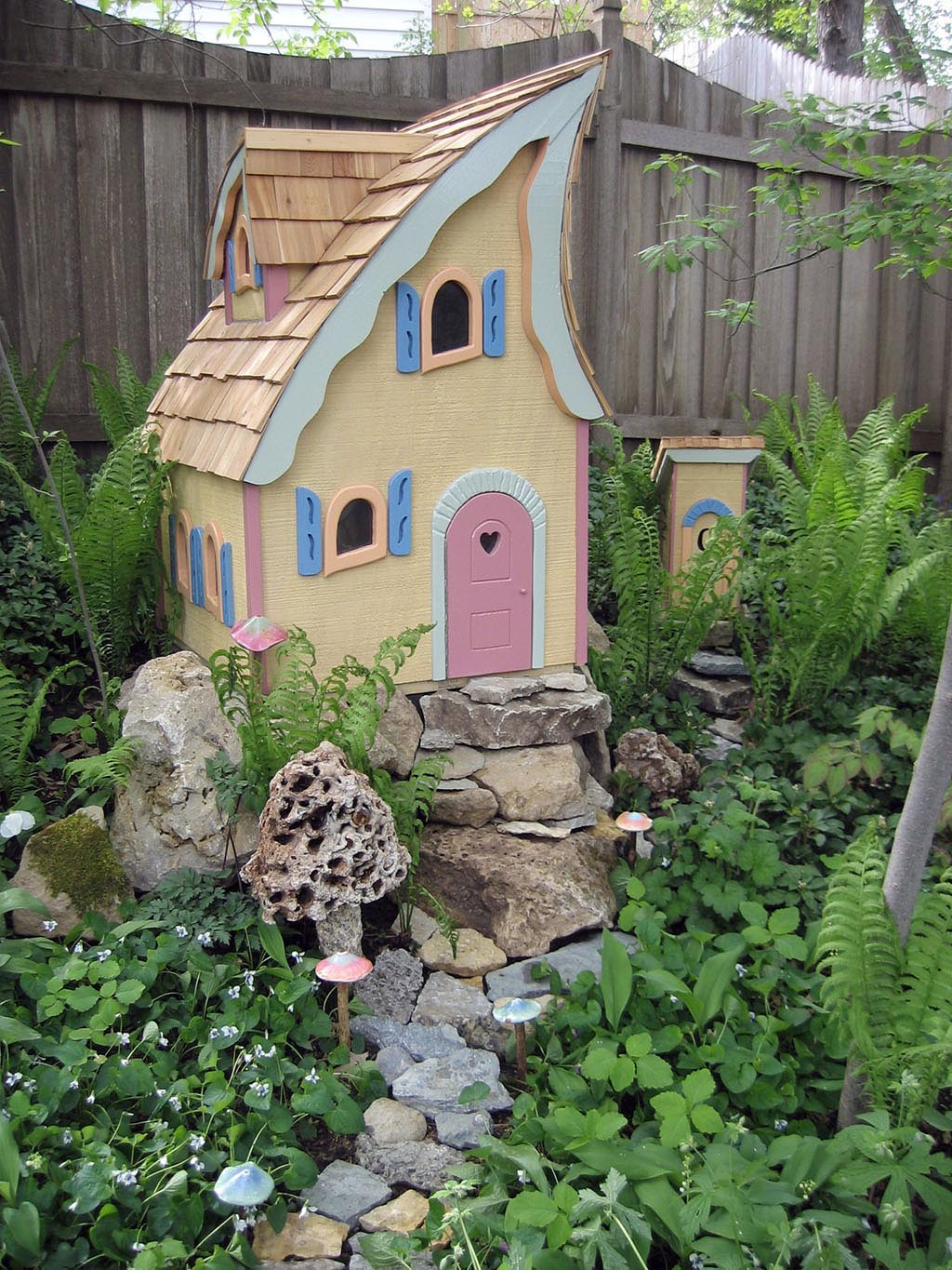 Outdoor Garden Fairy Houses