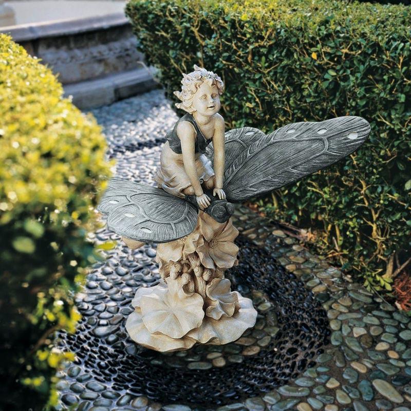 Outdoor Garden Fairy Statues