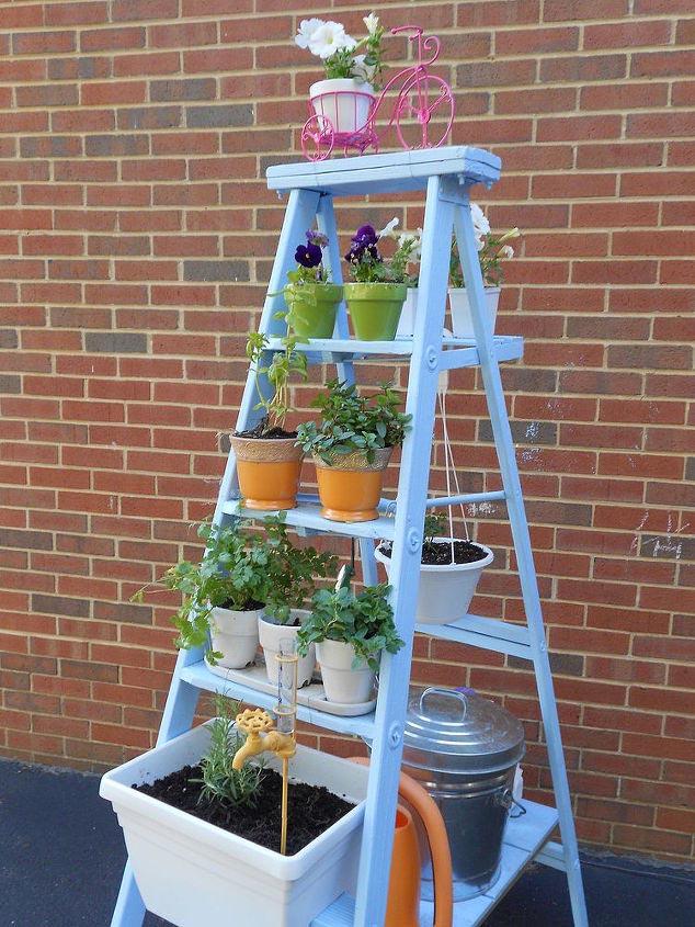 Outdoor Herb Garden Planters