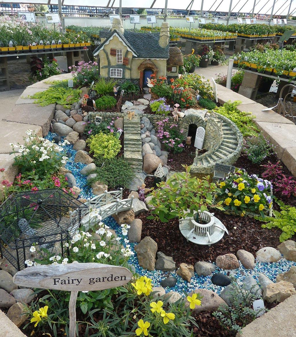 Outdoor Miniature Fairy Garden