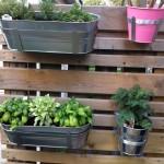 Outdoor Vertical Herb Garden