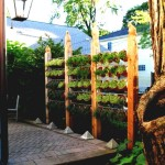 Outdoor Vertical Herb Garden
