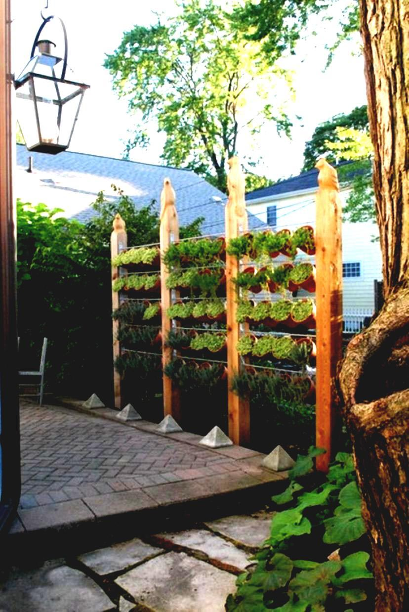 Beau Outdoor Vertical Herb Garden