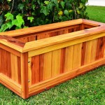 Outdoor Wooden Planter Boxes
