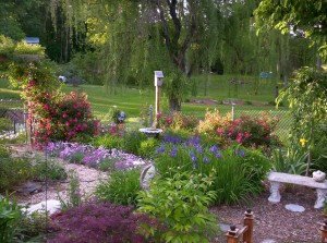 Perennial Shade Flower Garden Plans