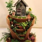 Planting a Miniature Fairy Garden